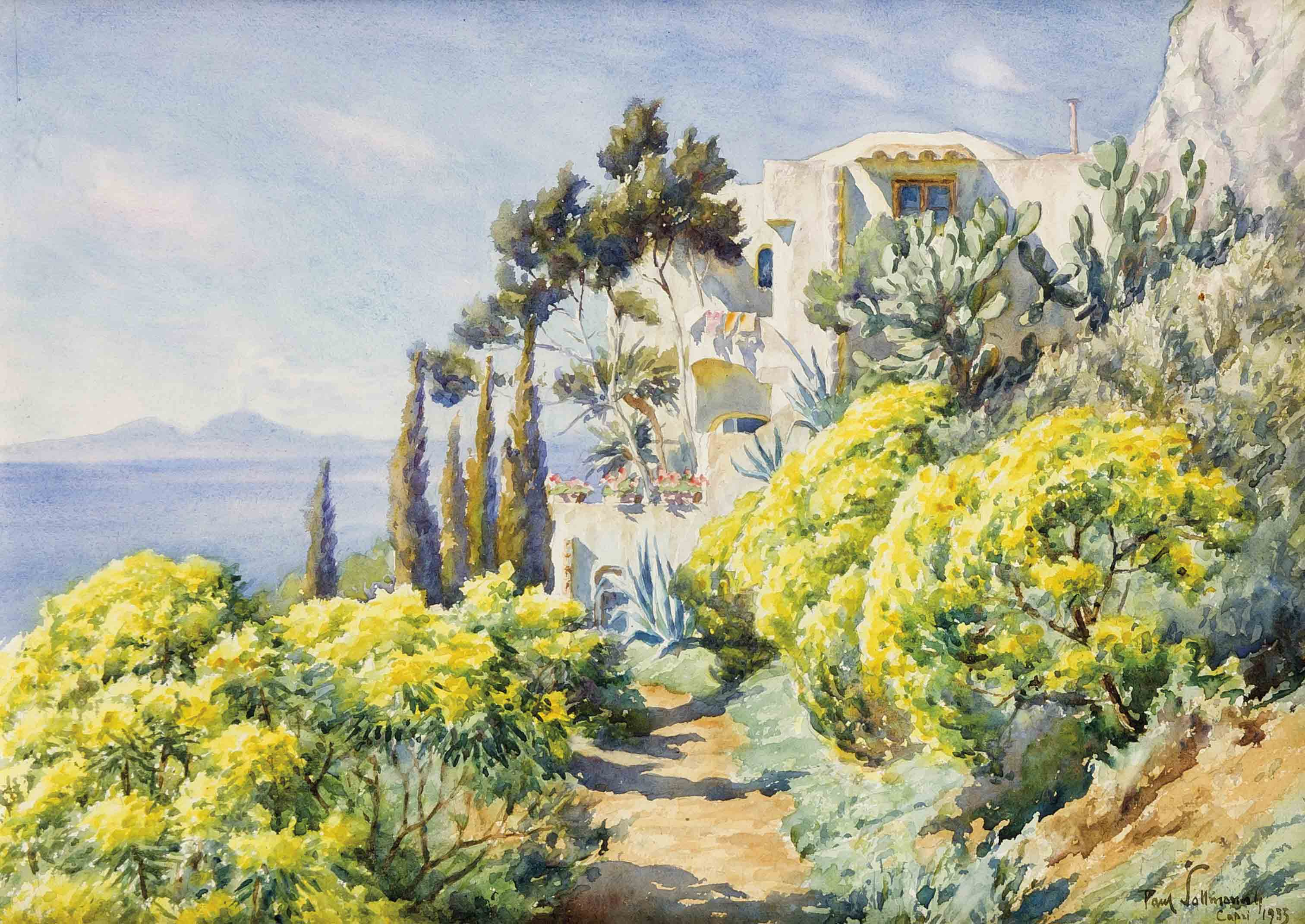 Paul Sollman (1886-1950), in Coburg geb