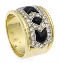 Onyx-Brillant-Ring